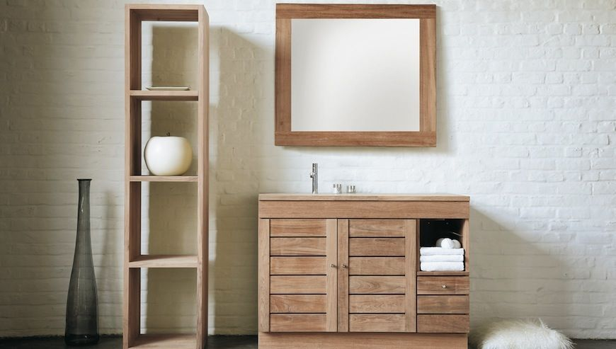 Image Result For Bathroom Ideas With Wood Cabinets