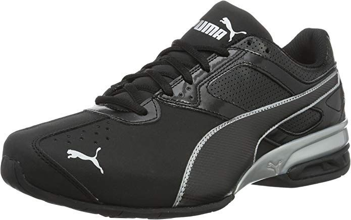 Puma Tazon 6 FM Sneakers Laufschuhe Herren SchwarzSilber