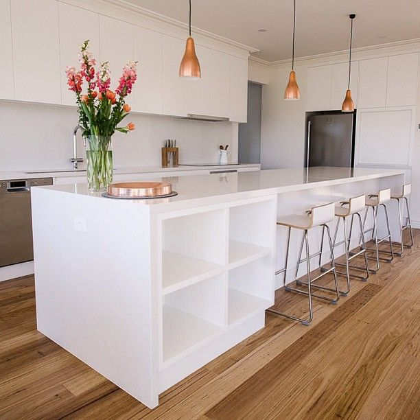 Granite Kitchen Bench Tops: Caesarstone Frosty Carrina Kitchen In Melbourne