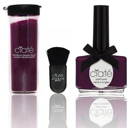 ciate berry poncho nail polish KIT