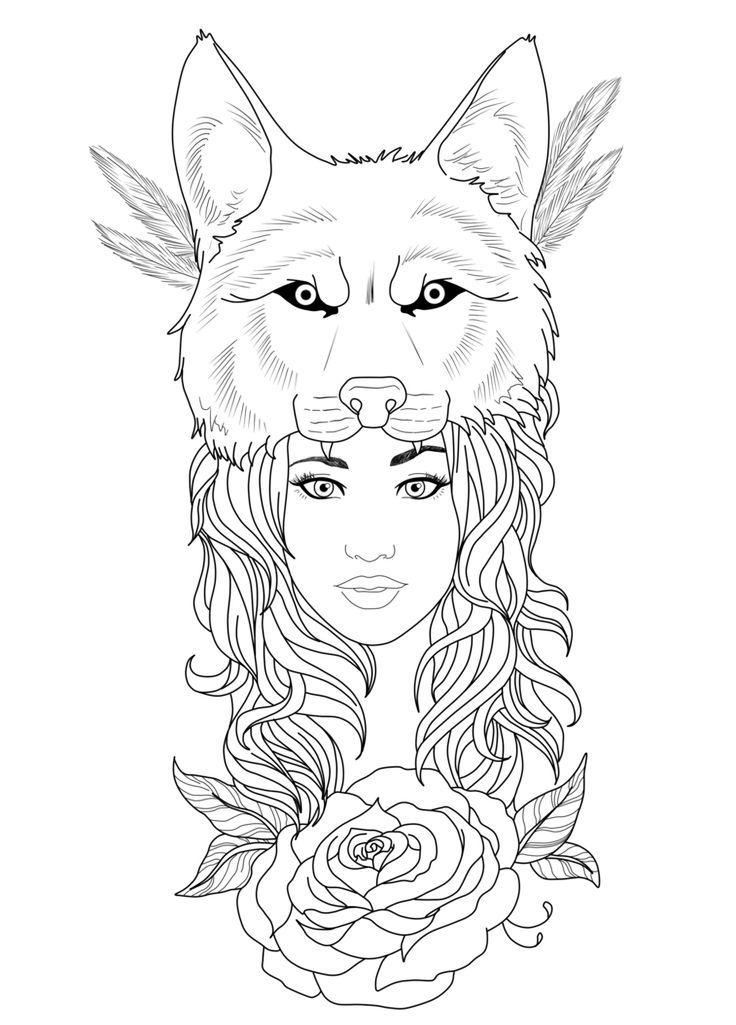 Girl Tattoos on Pinterest | Girl tattoos Indian head tattoo and ...