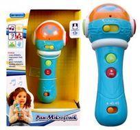 Pan Mikrofonik To Swietna Zabawka Dla Dzieci Lubiacych Muzyke Nagrywanie I Odsluchiwanie Wlasnego Glosu Na Pewno Zafascynuje Digital Watch Holder Accessories