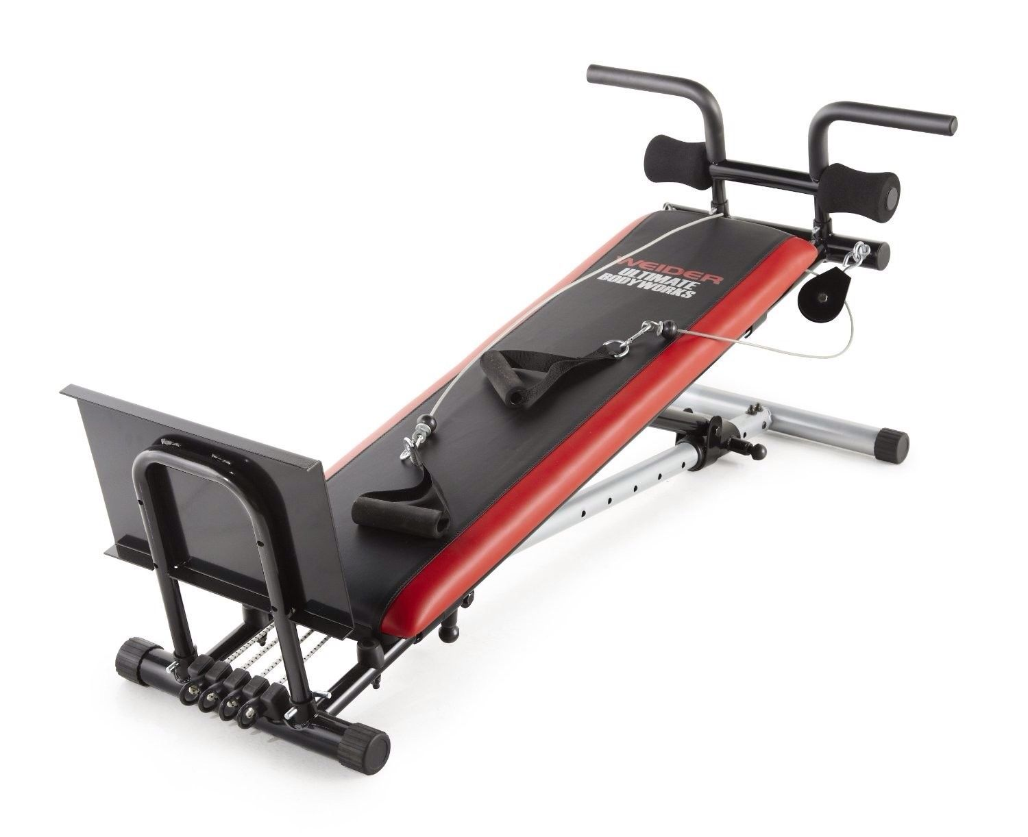 Weiderultimatebodyworksadjustableinclinebench Gym Weights Fitness Sports Health Exercise Exerciseequip Weider Ultimate Body Works At Home Gym Total Gym
