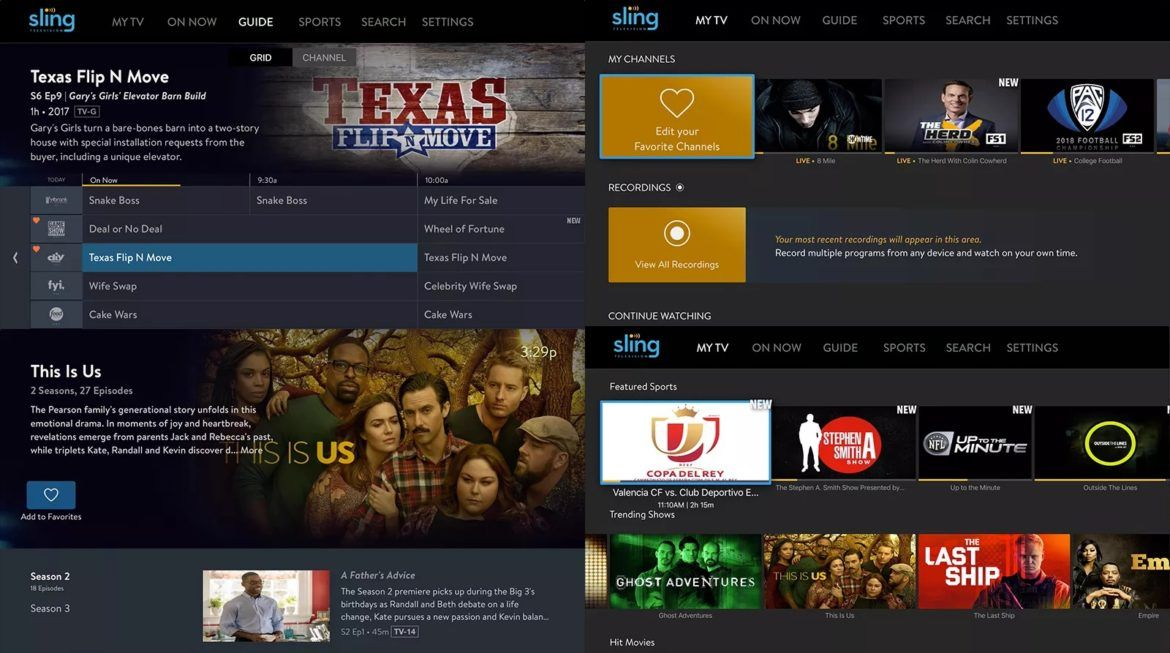 Sling TV improves its new features on Apple TV Apple tv