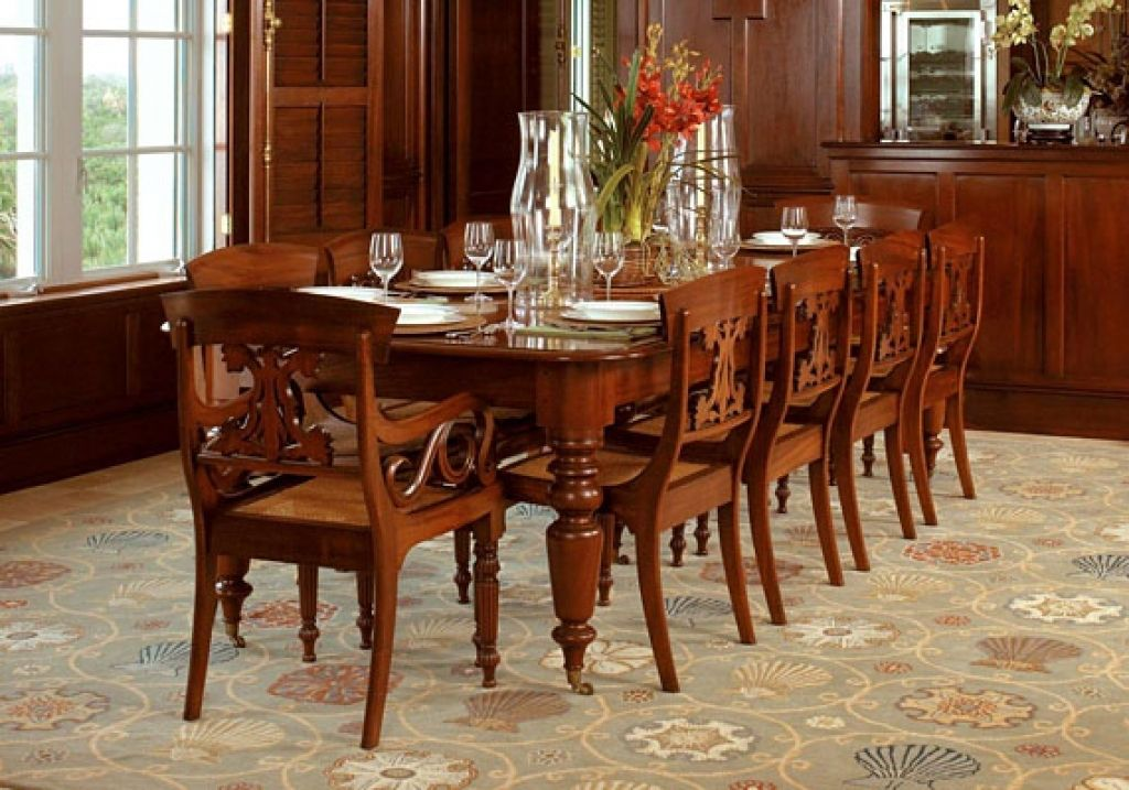 Cool Awesome Mahogany Dining Room Table 93 Home Decoration Ideas