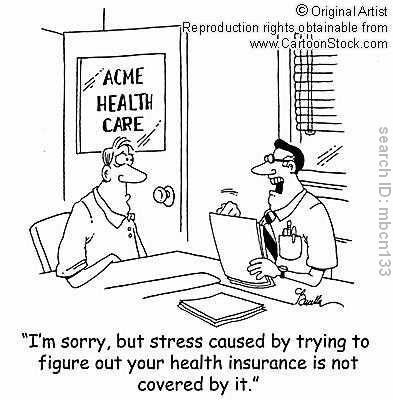 Insurance Humor Health Insurance Infographic Funny Health