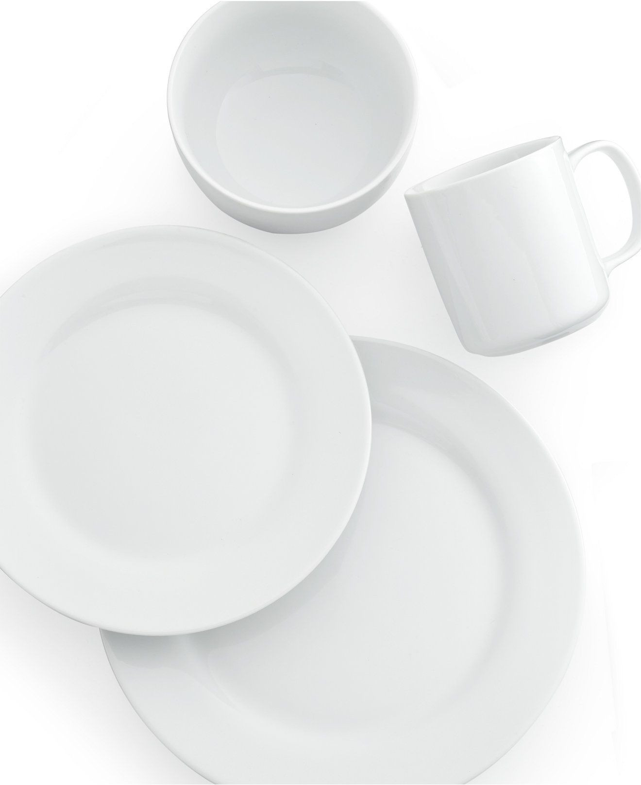The Cellar Whiteware Rim Collection - Dinnerware - Dining ...
