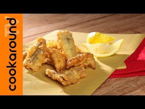 Acciughe fritte - le videoricette di Cookaround
