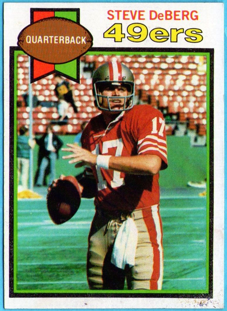 Steve Deberg 1979 Topps Rookie Rc 49ers Collectables Nfl