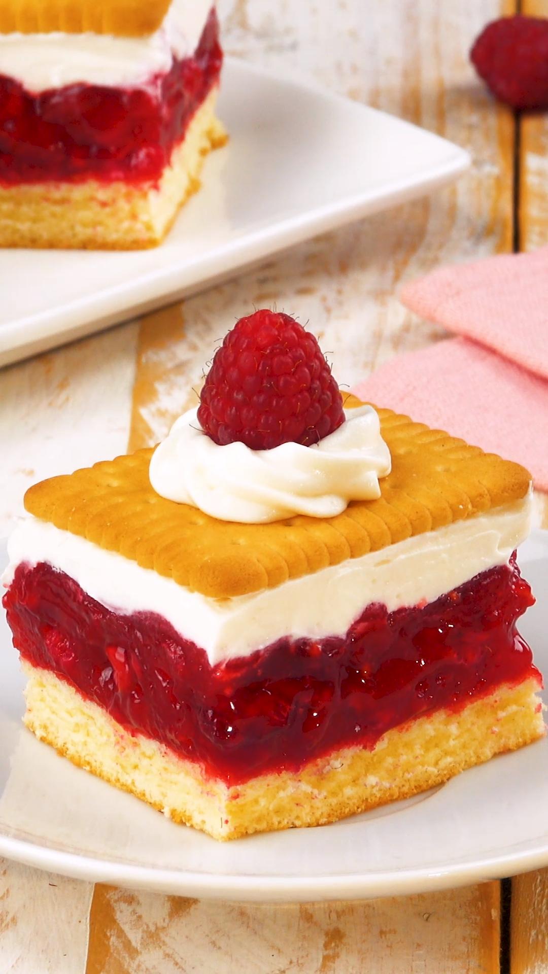 Köstliche Idee mit Butterkeksen #chocolatedessertrecipes