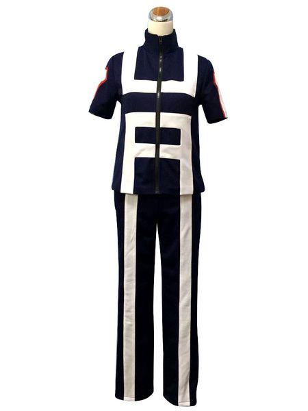 My Hero Academia Boku no Hero Academia Bakugou Katsuki Cosplay Costume Gym Suit