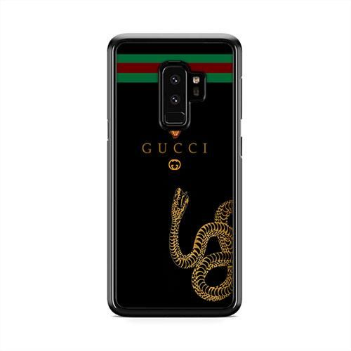 reputable site 69974 49bbc Gucci Snake Leather Chain Wallet Samsung Galaxy S9 Plus Case ...