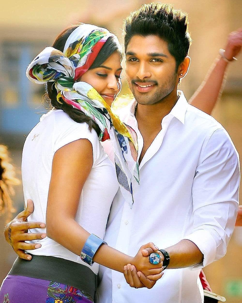 Sanju Komali Allu Arjun Alluarjun Iddarammayilatho Stylishstar Indiancinema Tollywood Tollywoodactor Kollyw Dj Movie Movie Couples Cute Actors