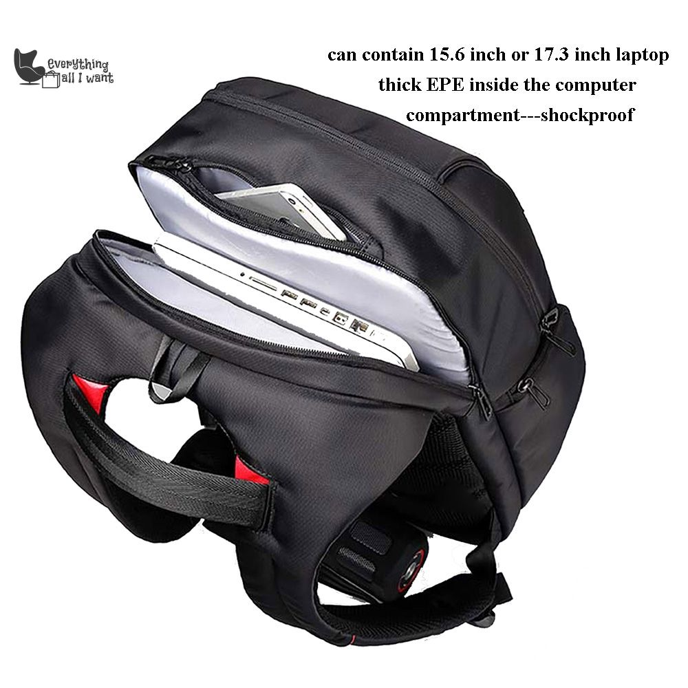 2192cb56c5 15.6 - 17.3 Waterproof Laptop Backpacks with USB Charge Port ...