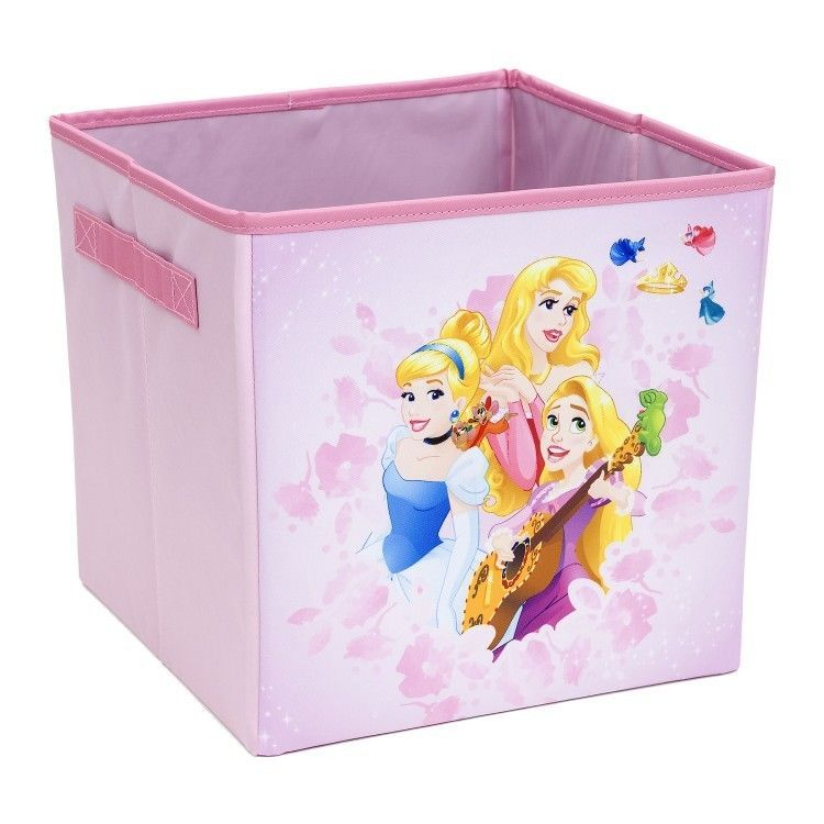 Princess Storage Cube Bin 10 X 10 Collapsible Cubes Playroom Disney Toybox Everythingmary Cube Storage Playroom Storage