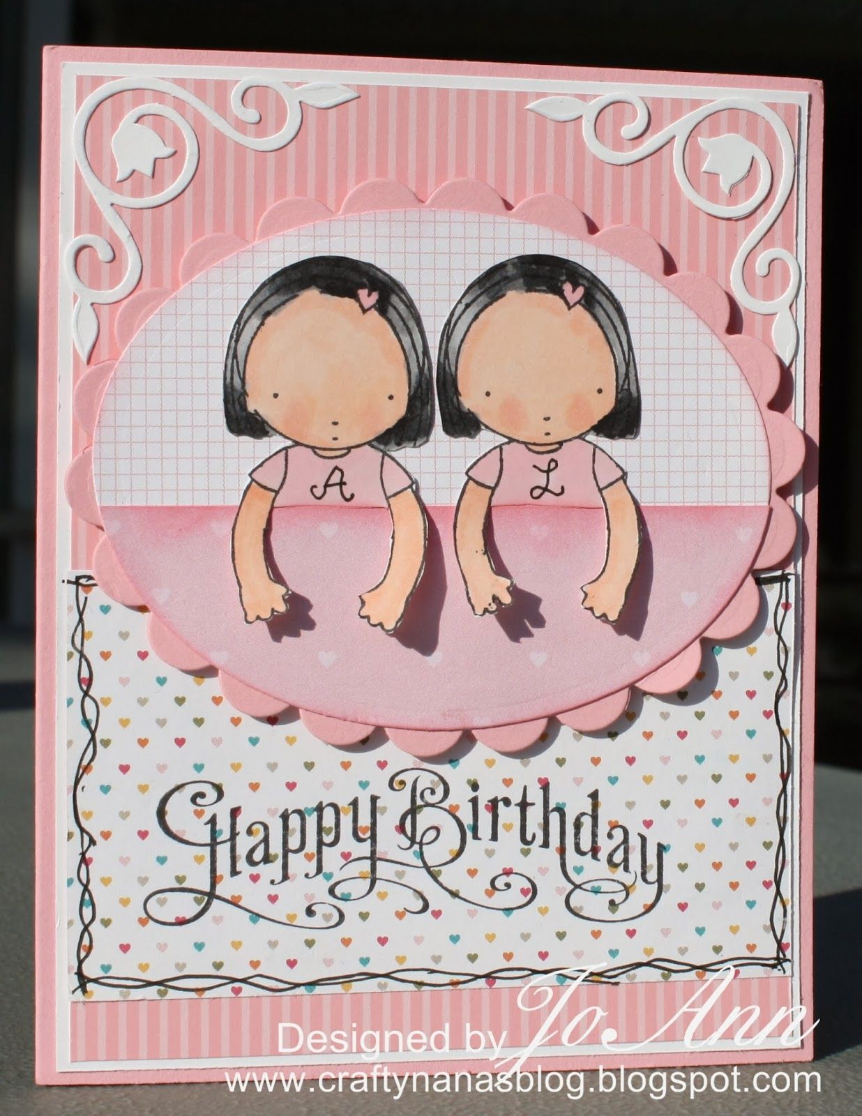Birthday card for twins bday twin pinterest cards birthday card for twins kristyandbryce Gallery
