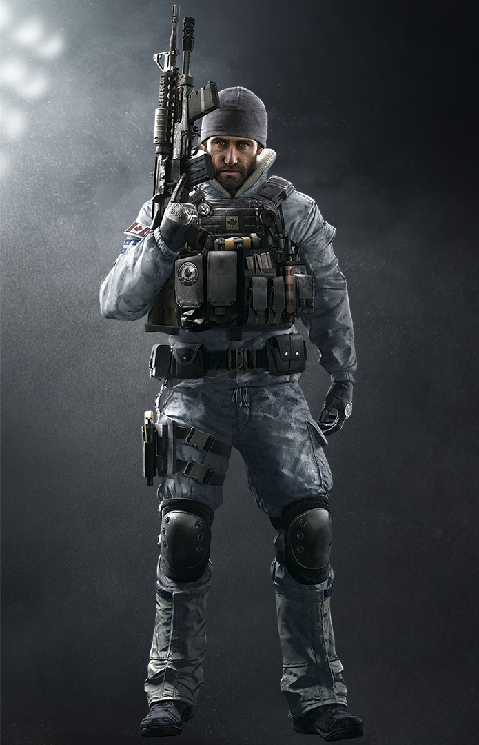 "Sébastien ""Buck"" Côté is an Attacking Operator featured in Tom ..."
