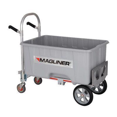 Magliner 1000 Lb Capacity Gemini Jr Convertible Aluminum Modular Hand Truck Dolly Hand Trucks Drain Plugs Modular