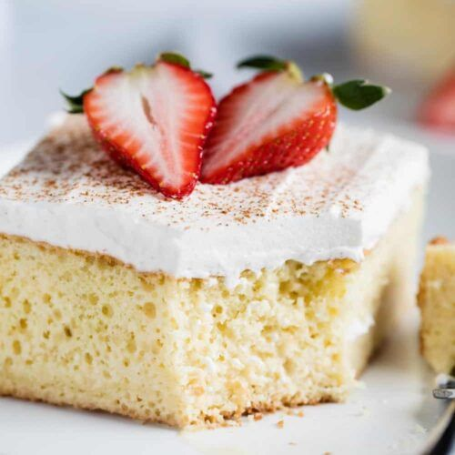 EASY Tres Leches Cake Recipe - I Heart Naptime