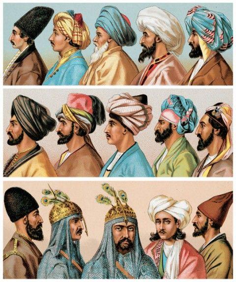 Asiatic Headgear  Persians 3ab1c74b046