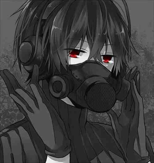Red Eyes Evil Anime Dark Anime Anime Neko