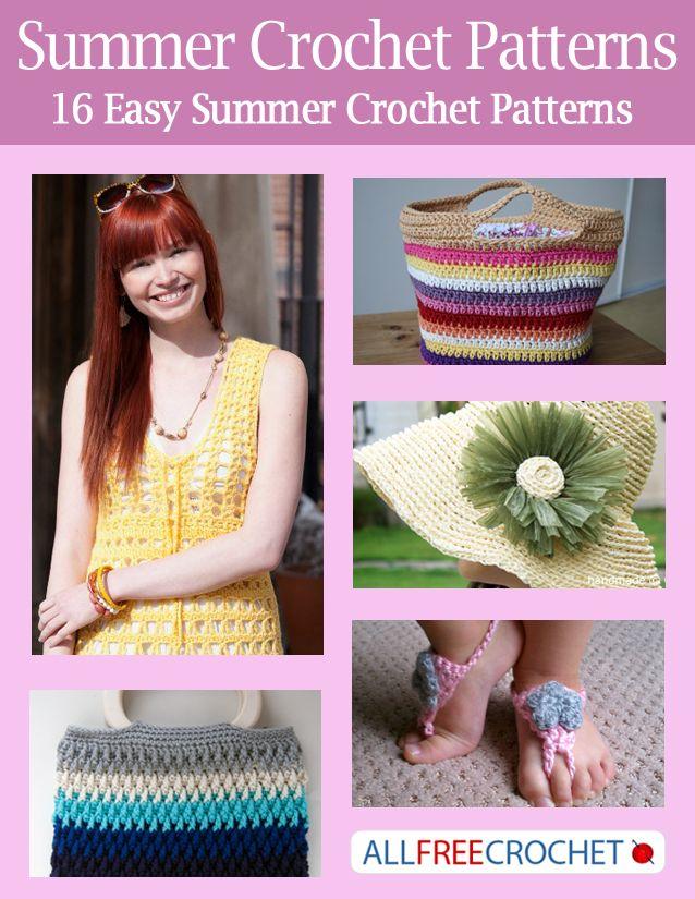 Summer Crochet Patterns Free Ebook Barefoot Sandals Pattern