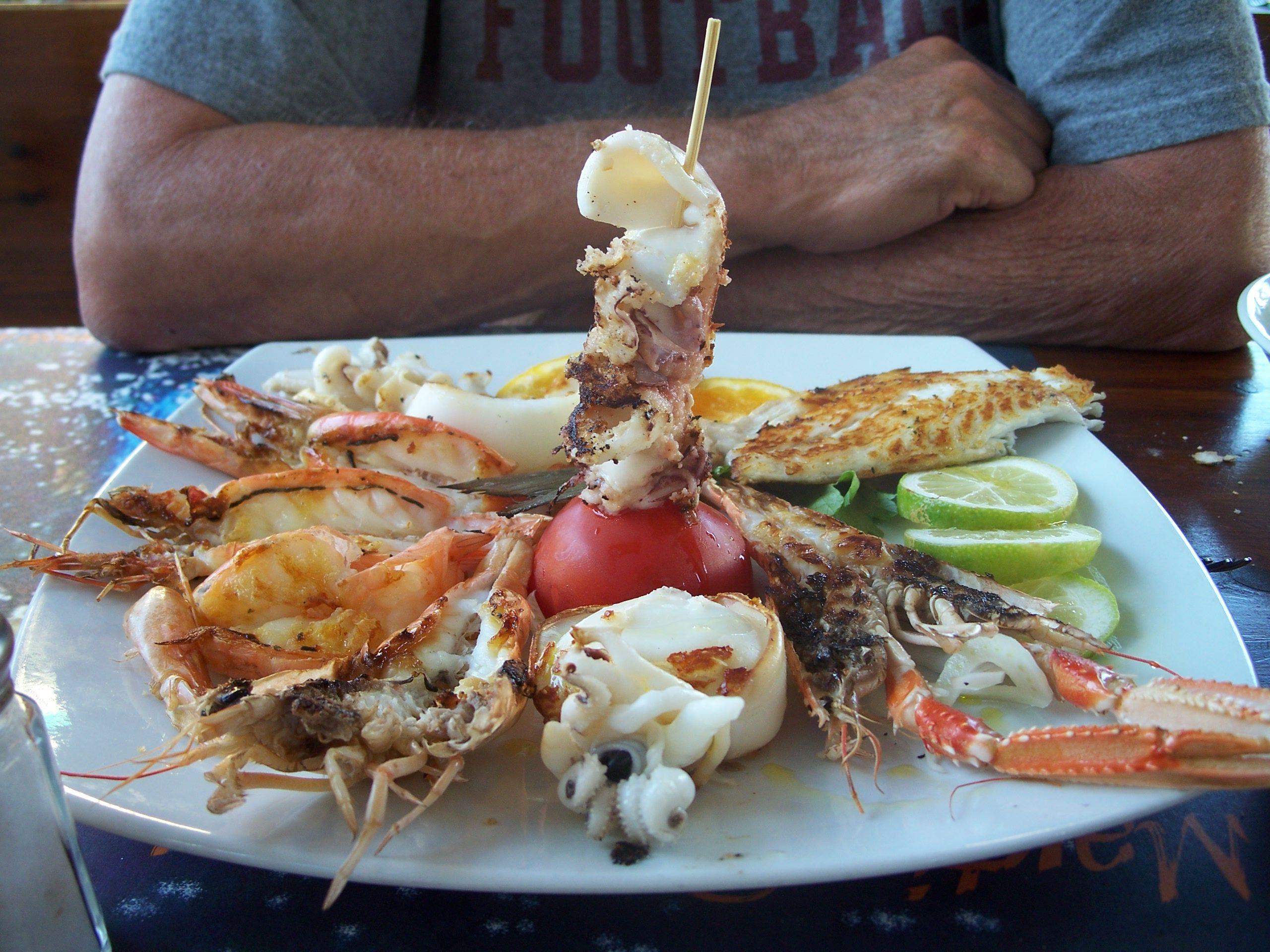 Seafood Platter Viareggio Italy Wanderlust Been There