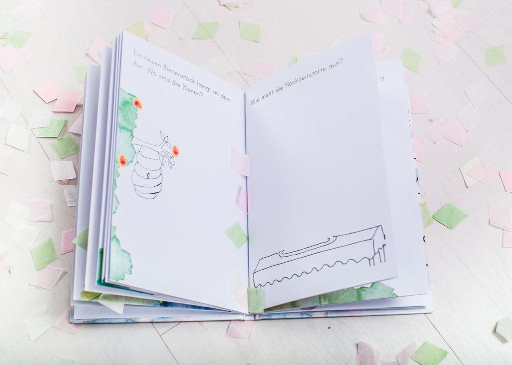 Beschäftigung für Kids Hochzeitsmalbuch Zeichenquatsch & Ideen