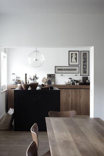 So minimal, so gorgeous Interieur Pinterest Hamburg, Küche - küche welche farbe
