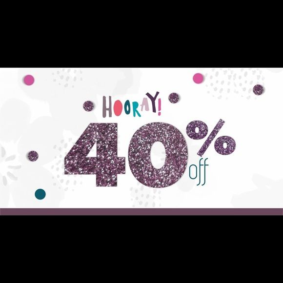 Weekend Sale!!! Ends April 4th!!!! CLOTHES ONLY!!! Weekend Sale!!! Ends April 4th!!!! CLOTHES ONLY!!! Make offer of 40% off price and I will accept it!!! Happy shopping! Accessories