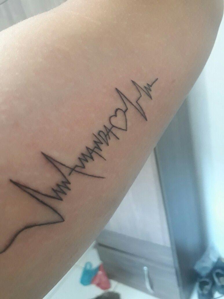 Tatuagem batimento cardaco nome amanda tatuagens pinterest tatoos tatuagem batimento cardaco nome amanda thecheapjerseys Image collections