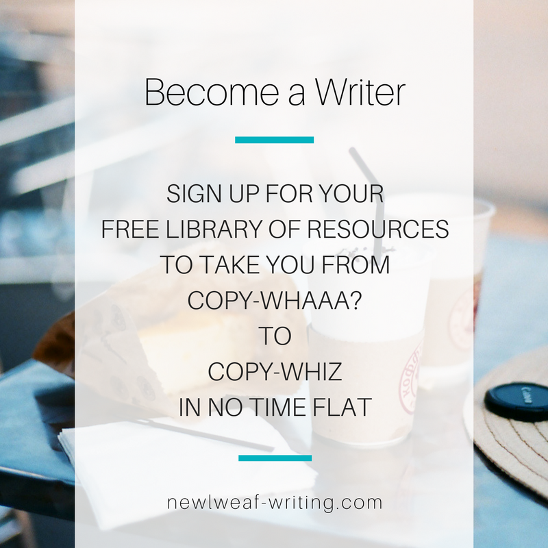 Become the paid copywriter, content marketer, marketing