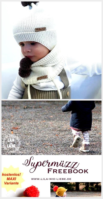 Photo of Wool hat Baby hat  Pompom hat Merino hat Knit hat Winter hat Trapper hat Knit hat Bonnet bebe…