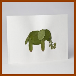 leafy animals craft san diego zoo   kids girl scouts
