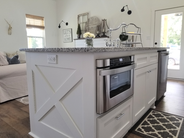 The Farmhouse Is For Sale Kitchen Island Provides Additional