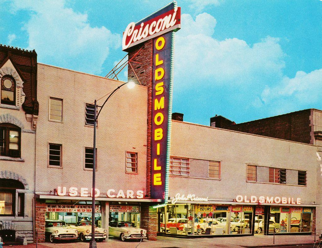 Crisconi Oldsmobile, Philadelphia PA Oldsmobile, Vintage