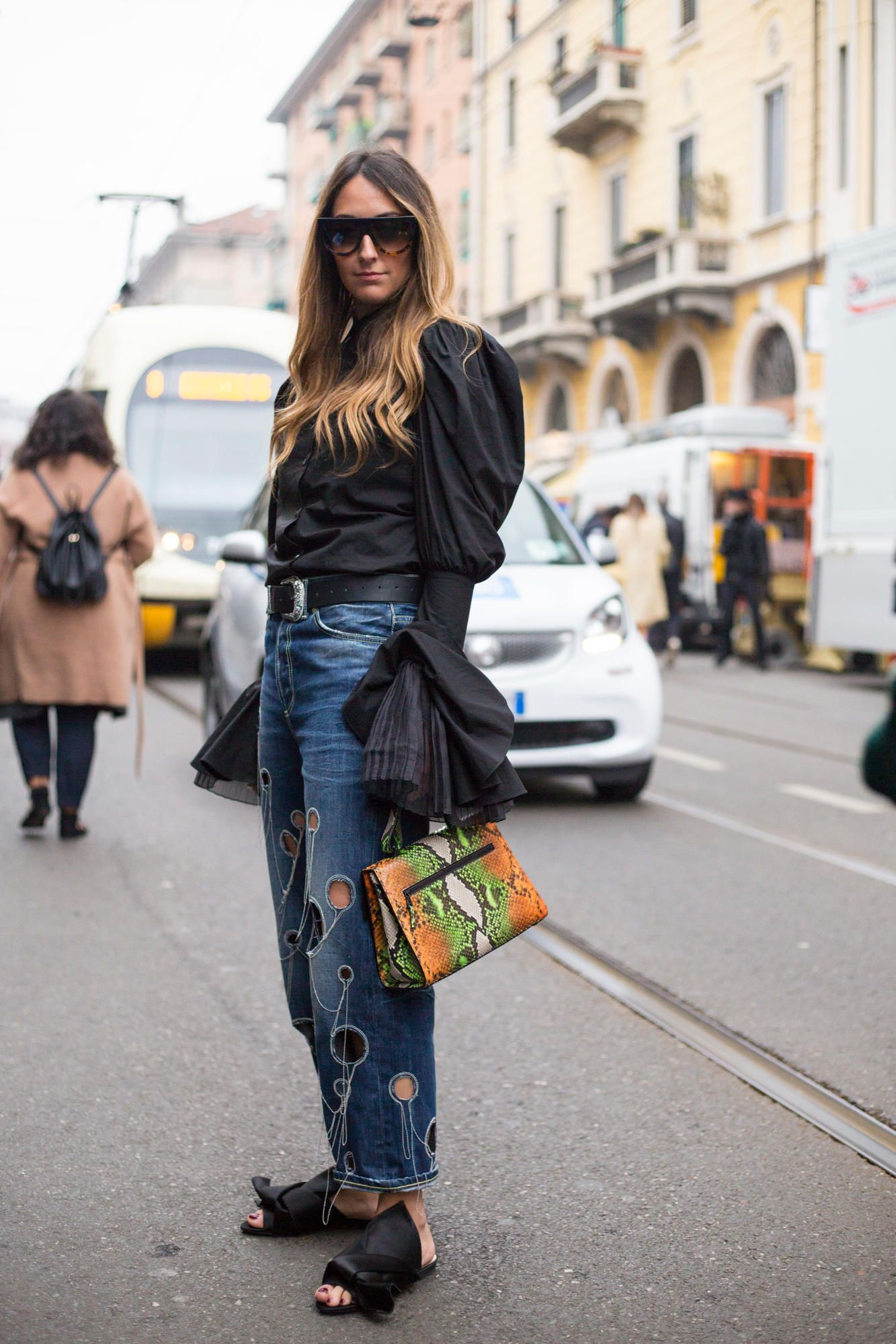 The Best Street Style Looks From Milan Fashion Week Fall 2017