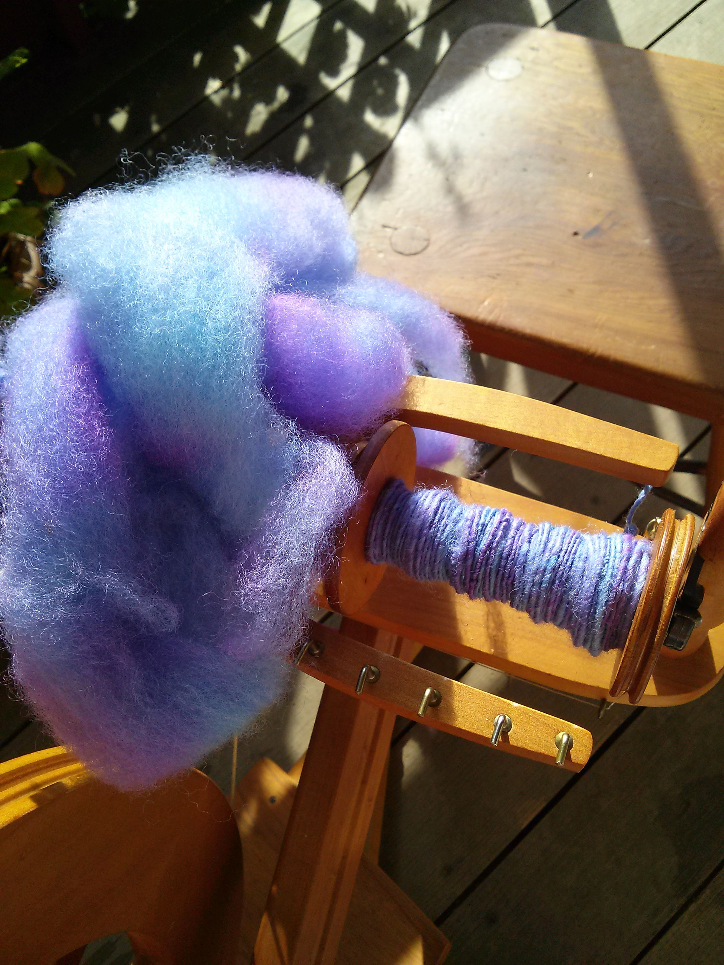 Dyeing Wool with Easter Egg dyes. Its easy and fun, just