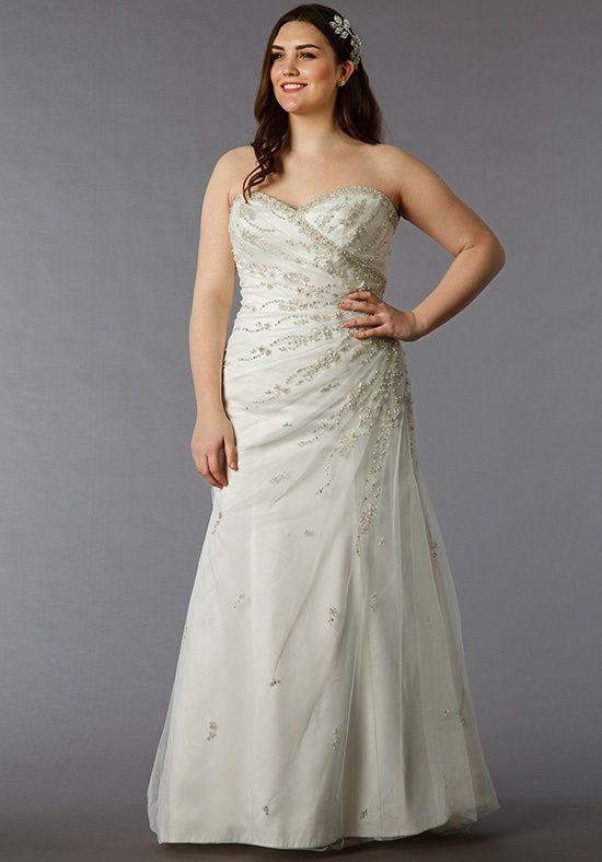 8f0276119c86 Dina Davos for Kleinfeld Wedding Dresses. Dina Davos for Kleinfeld Wedding  Dresses Plus Size Bridal ...