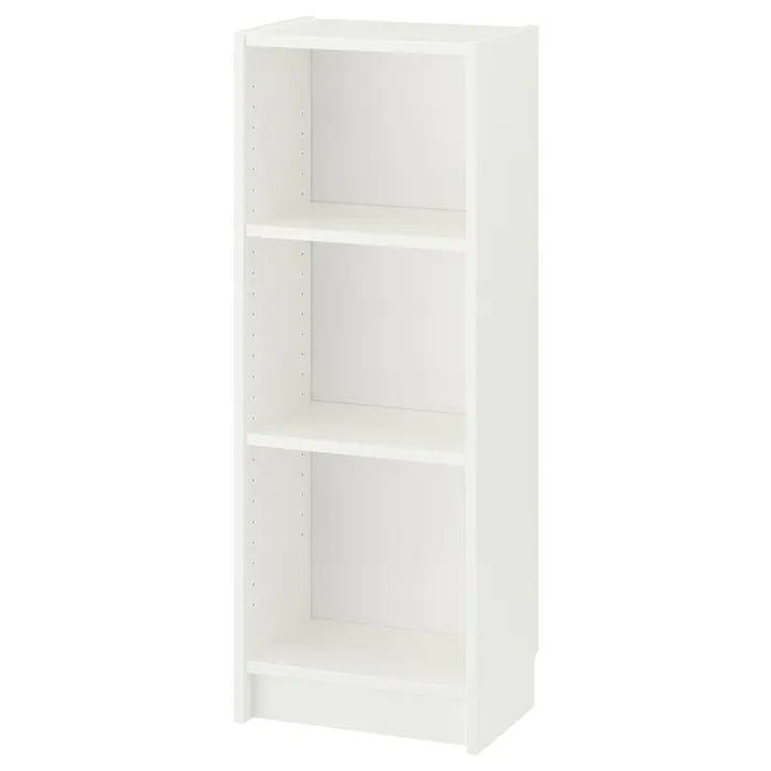 Billy Bookcase White 15 3 4x11x41 3 4 Ikea In 2021 White Bookcase Billy Bookcase Shelves