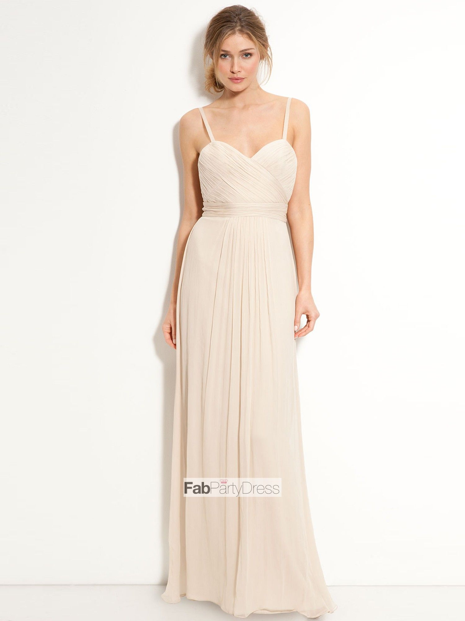 Pink Strapless Sweetheart Sheath Bridesmaid Dresses - Lunss