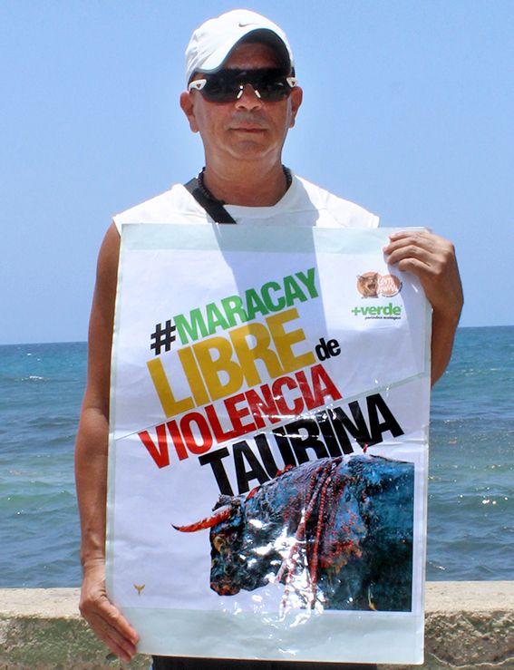 ¡Los aragüeños se pronuncian contra la barbarie! #MaracayLibreDeViolenciaTaurina  http://noticias.masverdedigital.com/  https://www.facebook.com/masverde.periodicoecologico/ https://www.facebook.com/GritoAnimalmcy/