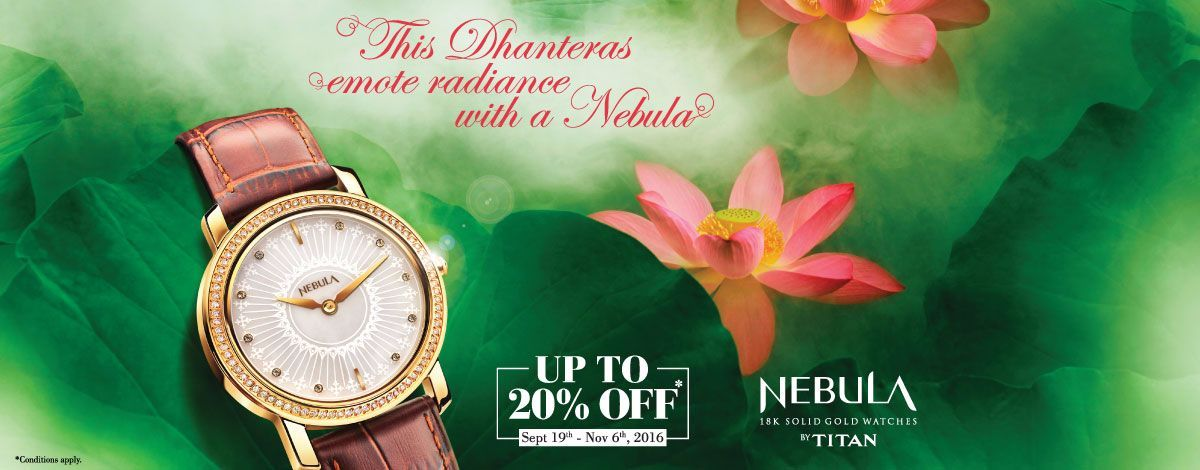 ae373959a 18k Solid Nebula Gold Watches by Titan Nebula is the most regal collection  under the Titan