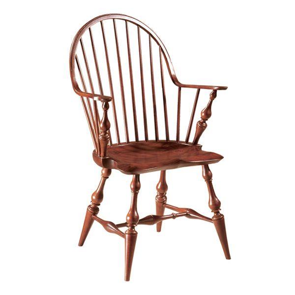dr dimes continuous arm chair | colonial home elements