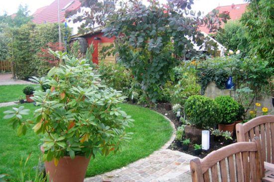Gartengestaltung Reihenhaus Beispiel 2 Garten Pinterest