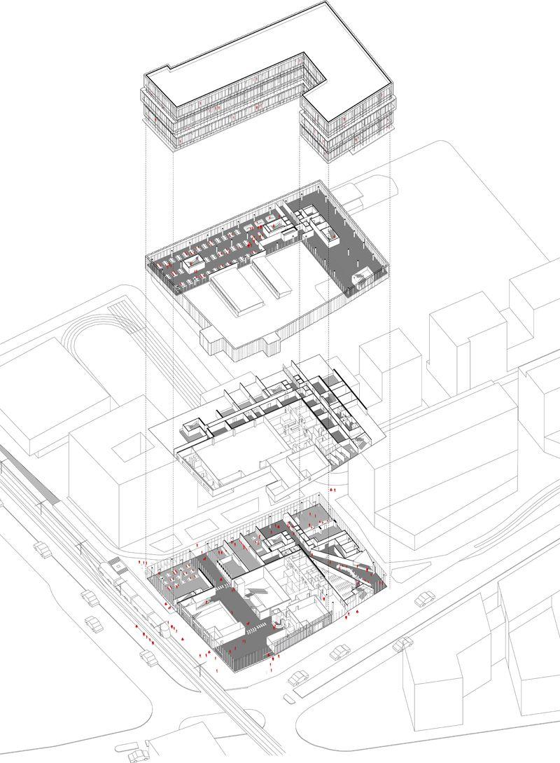 Ilot B – Asnières-sur-Seine | Architecture Representation ...