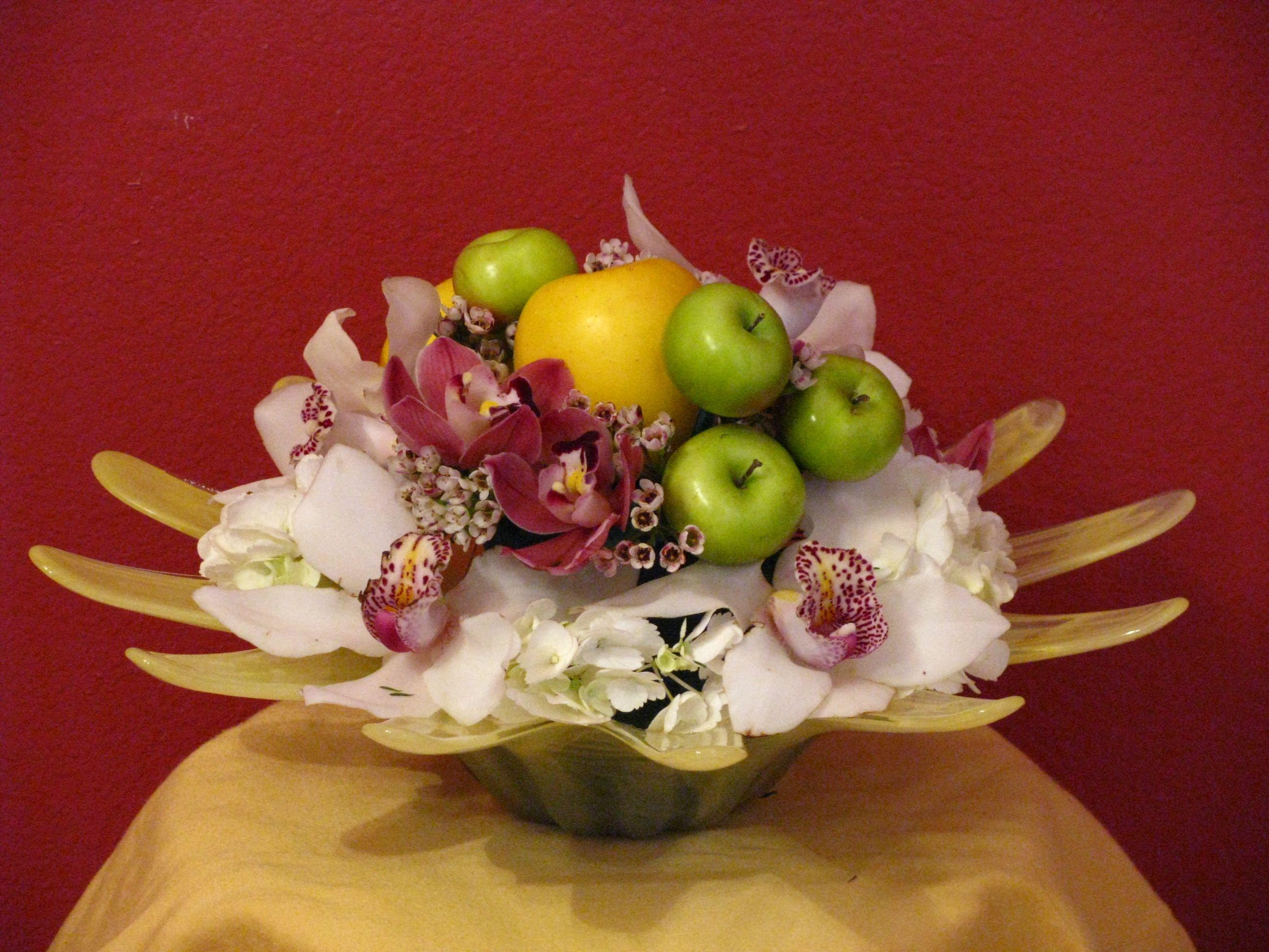 Apple design by roya flowers apple design flowers design