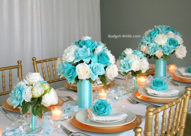 41 Best Ideas For Wedding Table Arrangements With Candles Diy Centerpieces Teal Wedding Centerpieces Diy Wedding Decorations Table Arrangements Wedding