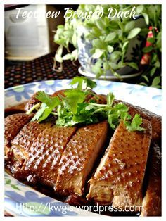 Teochew braised duck or lor ark braised duck taste chinese style braised duck or lor ark usually served in chazhou forumfinder Images
