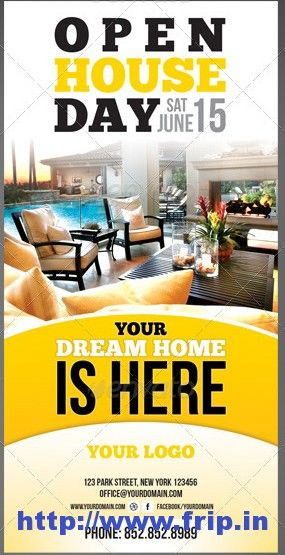50 best real estate flyer print templates 2017 dtp ideas